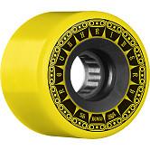 BONES WHEELS ATF Rough Rider Tank Skateboard Wheels 56mm 80a 4pk Yellow