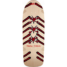 Powell Peralta Rat Bones Skateboard Blem Deck Natural - 10 x 30