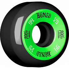 BONES WHEELS 100's 54x31 V5 Skateboard Wheels 100A Black 4pk