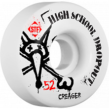 BONES WHEELS STF Pro Creager Drop Out 52mm 4pk