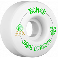 BONES WHEELS STF Easy Streets Skateboard Wheels V1 Standard 52mm 99a 4pk