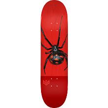 "MINI LOGO POISON ""16"" SKATEBOARD DECK 291 K20 BLACK WIDOW - 7.75 X 31.08"