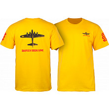 Bones Brigade Bomber T-shirt Gold