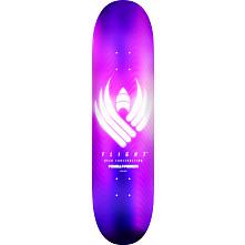 Powell Peralta Flight® Skateboard Deck Glow Purple - Shape 244 - 8.5 x 32.08