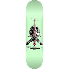 Powell Peralta Skull and Sword Skateboard Blem Deck Pastel Green 246 K21 - 9.05 x 32.95