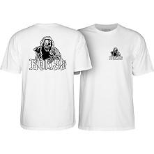 BONES WHEELS Night Crawler T-shirt - White