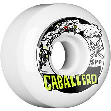 BONES WHEELS SPF Pro Caballero X Blender Moto Skateboard Wheel P5 60x34 4pk