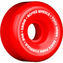 BONES WHEELS SPF Pro Hawk Mini Cube 58mm Red(4pack)