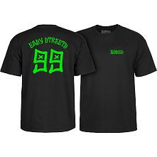 BONES WHEELS Easy Streets T-shirt Black