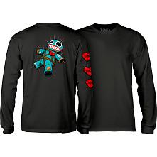 BONES WHEELS VooDoo L/S T-Shirt Black