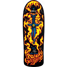 Bones Brigade® Guerrero Blem Skateboard Deck Black - Signed by George and Stacy