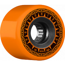 BONES WHEELS ATF Rough Rider Tank Skateboard Wheels 59mm 80a 4pk Orange