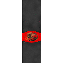 Powell Peralta Grip Tape Sheet 9 x 33 Oval Dragon (Black)