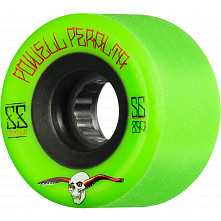 Powell Peralta G-Slides Skateboard Wheels 56mm 85a 4pk Green