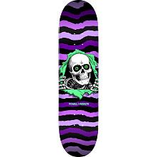 Powell Peralta Ripper Skateboard Deck Purple 245 K21 - Shape 245 - 8.75 x 32.95
