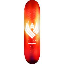 Powell Peralta Flight® Skateboard Deck Glow Red - Shape 242 -  8 x 31.45