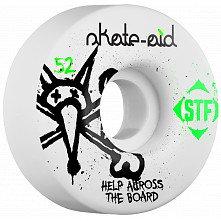 BONES STF Skate Aid Collabo 52x31 V1 Skateboard Wheel 83B 4pk