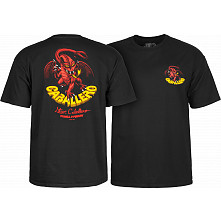 Powell Peralta Steve Caballero Original Dragon T-shirt - Black