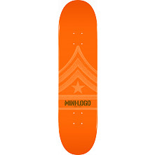 Mini Logo Quartermaster Deck 127 Orange - 8 x 32.125