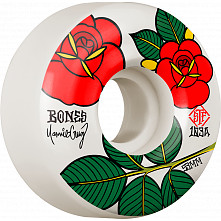 BONES WHEELS PRO STF Skateboard Wheels Cruz Rosas 53mm V2 Locks 103A 4pk