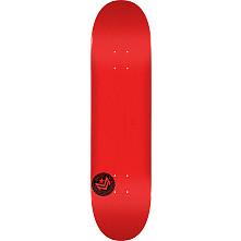 "MINI LOGO CHEVRON STAMP 2 ""13"" SKATEBOARD DECK 255 RED - 7.5 X 30.70"