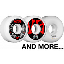 BLEM BONES WHEELS STF V5 52mm White 4pk