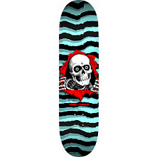 Powell Peralta Ripper Blem Skateboard Deck Pastel Blue 249 K20 - 8.5 x 32.08