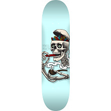 Powell Peralta Curb Skelly Blem Skateboard Deck Blue - 8 x 31.45