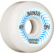 BONES WHEELS SPF Skateboard Wheels Spines 54mm P5 Sidecut 84B 4pk White