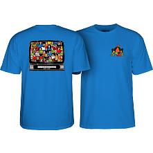 Powell Peralta Bucky Lasek Stadium T-Shirt Royal Blue