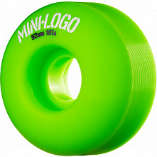 Mini Logo Wheel C-cut 52mm 101A Green 4pk