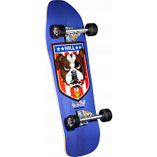 Powell Peralta Hill Bulldog Custom Complete Skateboard Purple - 10 x 31.5