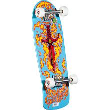 Bones Brigade® Tommy Guerrero Complete Skateboard Blue - 9.6 x 29.18
