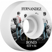 BONES WHEELS STF Pro Fernandez Con Amigos Skateboard Wheels V1 54mm 103A 4pk