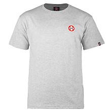 Bones® Bearings Small Swiss Logo T-Shirt - Gray