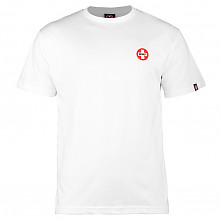 Bones® Bearings Small Swiss Logo T-Shirt - White