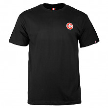 Bones® Bearings Small Swiss Logo T-Shirt - Black