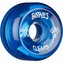BONES SPF Clear Blue 60x34 P5 Skateboard Wheel 84B 4pk