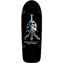 Powell Peralta Ray Rodriguez OG Skull and Sword Skateboard Blem Deck - 10 x 30