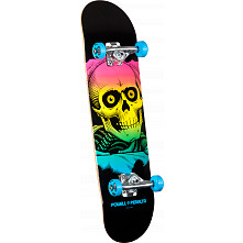 Powell Peralta Ripper Complete Skateboard Blue - 8 x 32.125