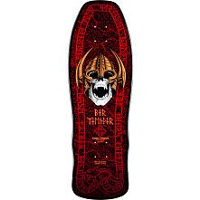 Powell Peralta Per Welinder Nordic Skull Deck Blk/Red - 9.625 x 29.75