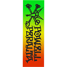 Powell Peralta Grip Tape Sheet 10.5  x 33 Vato Rat Fade (WHITE)