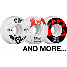 BLEM BONES WHEELS STF V2 53mm White 4pk