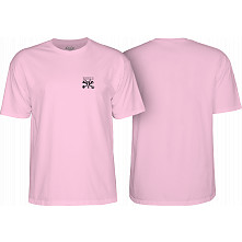 BONES WHEELS Chester T-shirt Pink