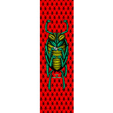 Powell Peralta Grip Tape Sheet 10.5 x 33 Bug (White)