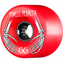 Powell Peralta ATF 66mm 78A Wheel Red