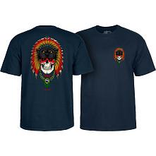 Powell Peralta Kelvin Hoefler Skull T-Shirt Navy