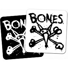 "BONES WHEELS Vato Op Square 4"" Single Sticker"