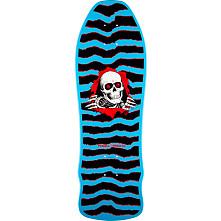 Powell Peralta Geegah Ripper Skateboard Deck Blue- 9.75 x 30
