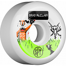 BONES SPF Pro McClain Duck Hunt 55x31 P5 Skateboard Wheel 84B 4pk